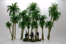 Arcane Scenery Pack of DATE/ PALM TREES pack of 15 pieces