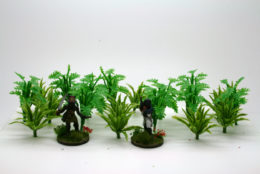JUNGLE PLANTS pack of 20 Arcane Scenery Wargames Terrain