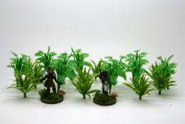 JUNGLE PLANTS pack of 20 Arcane Scenery Wargames Terrain