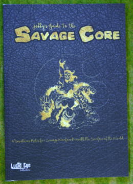 SAVAGE CORE Pulp Skirmish Gaming Rule Book Lucid Eye Publications
