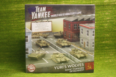 Flames of War YURI'S WOLVES 2017 Team Yankee 15mm TSUAB3