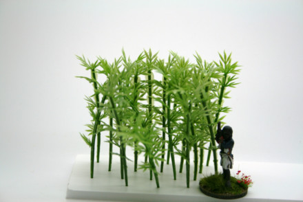 BAMBOO PLANTS pack of 20 plastic plants Arcane Scenery Wargames Terrain