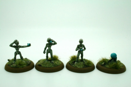 Lucid Eye Id Bods pack 2 ID02 Savage Core 28mm scale