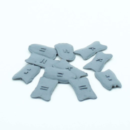 Shields Arab Tribal Mixed Shields Pack Footsore Miniatures SAGA 03-SHD-06