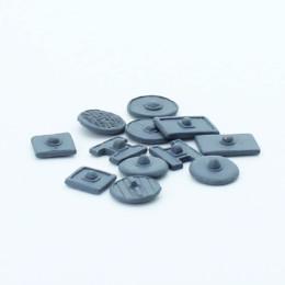 Shields Pict/Scots Mixed Shields Pack Footsore Miniatures SAGA 03-SHD-10