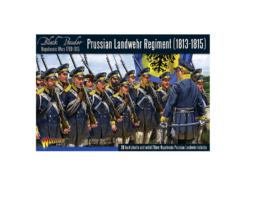 Warlord Games PRUSSIAN LANDWEHR REGIMENT 1813-1815 Black Powder 28mm SD