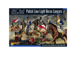 Warlord Games POLISH LINE LIGHT HORSE LANCERS Black Powder 28mm SD