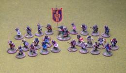 Early Saxon Skirmish Warband for SAGA Footsore Miniatures SAGA 30ESX900