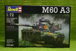 M60 A3 Main Battle Tank 1/72 scale Revell kit 3140