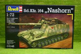 Sd. Kfz. 164 NASHORN 1/72 Scale Revell Military Kit 03148