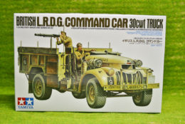 Tamiya BRITISH L.R.D.G. Command Car 30CWT TRUCK 1/35 Scale Kit 35092