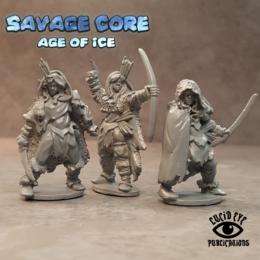 Lucid Eye Age of Ice Amazons 1 IAA1 Savage Core 28mm