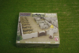 FLAMES OF WAR MOSQUE WALLS painted tabletop terrain 15mm to 28mm BB179