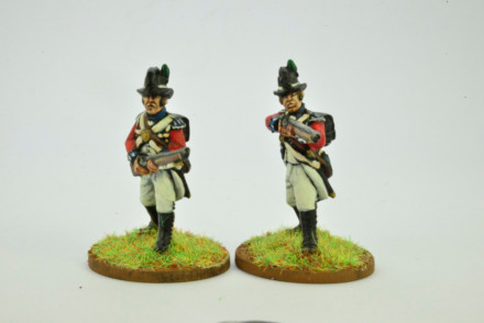 Victorious Miniatures NAPOLEONIC BRITISH LINE INFANTRY Skirmishing NAPBR04 28mm