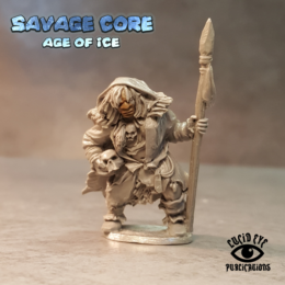 Lucid Eye Age of Ice Neanderthal Boss Lame Getra Tribal Mother IAB005 Savage Core 28mm