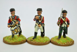 Victorious Miniatures NAPOLEONIC HIGHLAND INFANTRY COMMAND NAPBR05 28mm