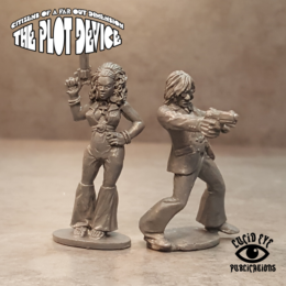 Lucid Eye Plot Device Superspy Titus Verne and Julia Savage Core 28mm PLOT