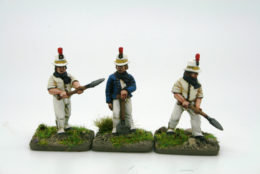 Trent Miniatures BRITISH MILITARY ARTIFICERS pack of 6 BA04 28mm