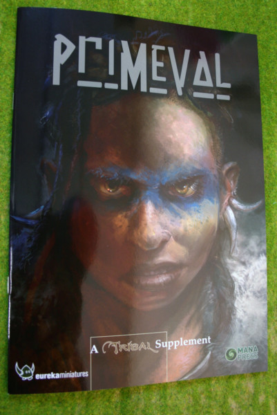 PRIMEVAL – a Tribal Supplement Rules book Mana Press