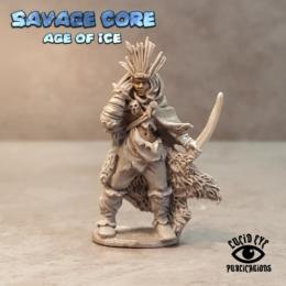 Lucid Eye Age of Ice Amazon Boss Seratra the Foundling IAB004 Savage Core 28mm