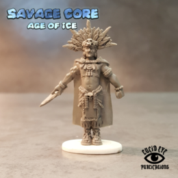 Lucid Eye Age of Ice Jaguar Tribe Boss High Blood Priest Skull Cloud IAB003 Savage Core 28mm