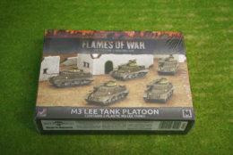 Flames of War US M3 LEE TANK PLATOON 15mm UBX50