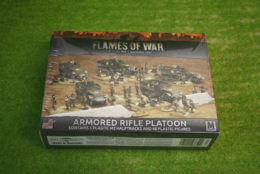 Flames of War US ARMORED RIFLE PLATOON 15mm UBX51