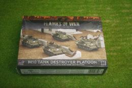 Flames of War US M10 TANK DESTROYER PLATOON 15mm UBX53