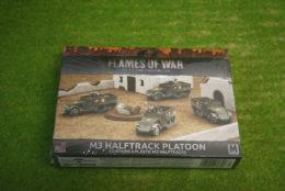 Flames of War US M3 HALFTRACK PLATOON 15mm UBX57