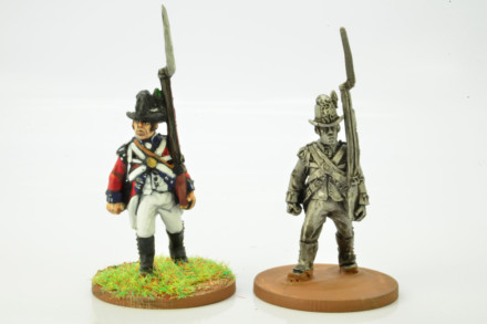 Victorious Miniatures NAPOLEONIC BRITISH LINE INFANTRY FLANK Coy NAPBR03 28mm