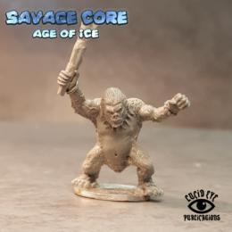 Lucid Eye Age of Ice Simian Boss Vim the Mad IAB006 Savage Core 28mm