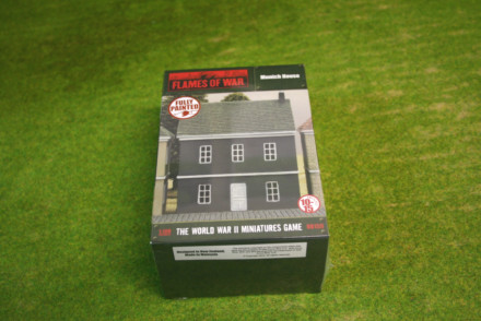 FLAMES OF WAR Munich House painted tabletop terrain 15mm to 28mm BB159