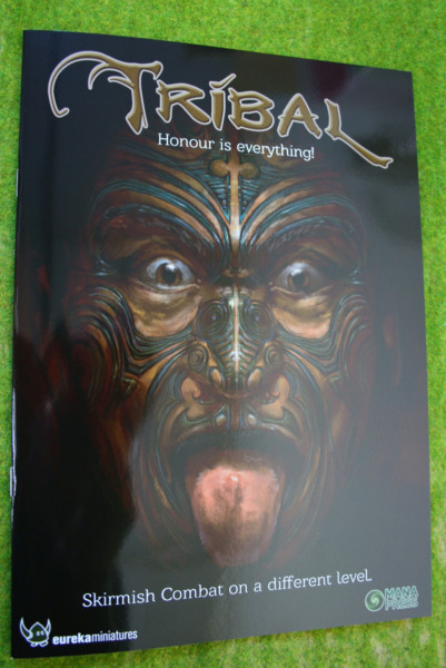 TRIBAL – Honour is everything! Skirmish Combat Rules book Mana Press