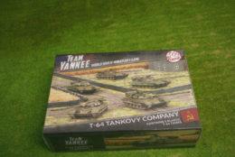 Flames of War T-64 Tankovy Company PLASTIC 15mm TSBX13