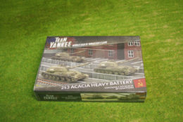 Flames of War Acacia Heavy SP Howitzer Battery 15mm TSBX17