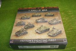Flames of War PATTON'S FIGHTING FIRST 15mm USAB08