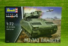 M2 M3 Bradley 1/72 Revell Military Kit 3143