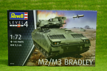 M2 M3 Bradley 1/72 Revell Military Kit 3143