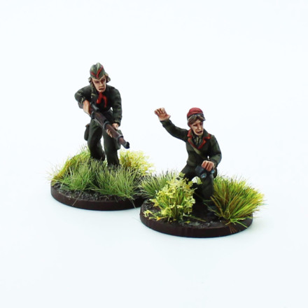 Socialist Sniper Team Footsore Miniatures Inter-War 1918-1939 07VBC119