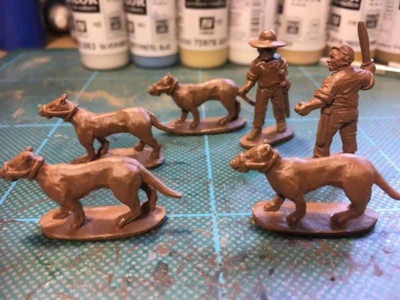 Trent miniatures Cuban Chasseurs