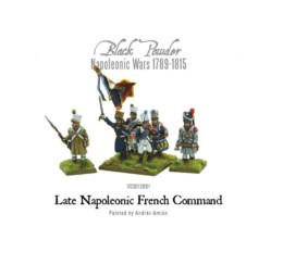 Warlord Games Napoleonic Late French Command 28mm