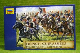 French Cuirassiers 1807 – 1815 1/72 Zvezda Napoleon Wargames 8037