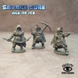 Lucid Eye Age of Ice Amazons 2 IAA2 Savage Core 28mm
