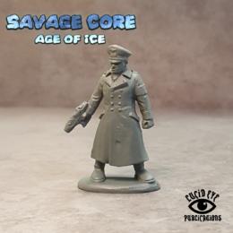 Lucid Eye Age of Ice Projekt Sturm Kommandant Hofmann PROJ1 Savage Core 28mm