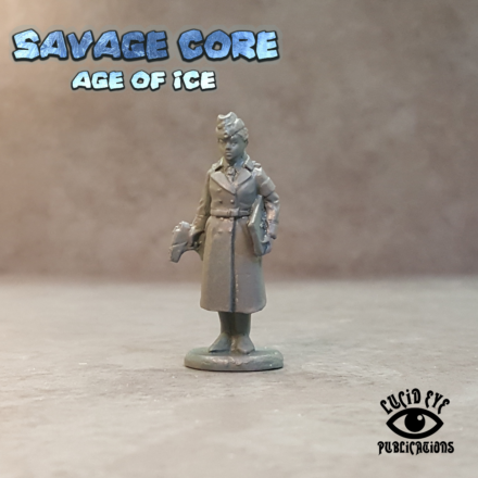 Lucid Eye Age of Ice Projekt Sturm Agent Roth PROJ2 Savage Core 28mm