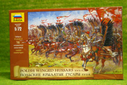 POLISH WINGED HUSSARS XVII A.D. 1/72 Zvezda 8041