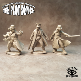 Lucid Eye Plot Device The Ultrateens 1 Savage Core 28mm ULT01