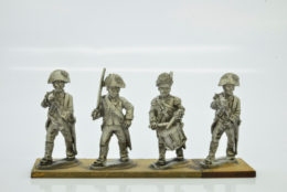 Victorious Miniatures NAPOLEONIC BRITISH COMMAND Bicornes NAPBR10 28mm