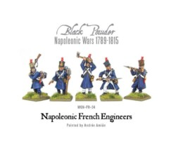 Warlord Games Napoleonic French Engineers 28mm