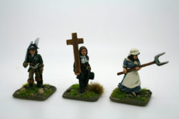 Trent Miniatures CHOUANS – REBEL CHARACTERS Pack 2 FCHOU06